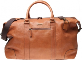 Weekend Bag Morris - Cognac