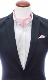 Ascot + Handkerchief Extra Light Pink