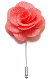 Lapel Flower Pin - Ljuskorall