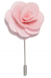 Lapel Flower Pin - Extra Ljusrosa