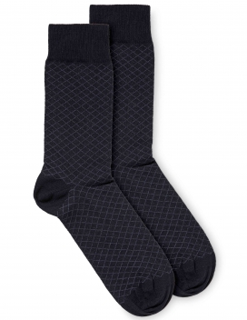Socks | Crisp | Navy