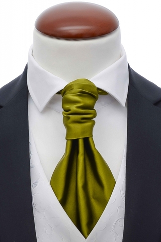 Cravat + Handkerchief Lime