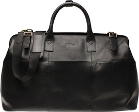Weekend Bag Black Leather